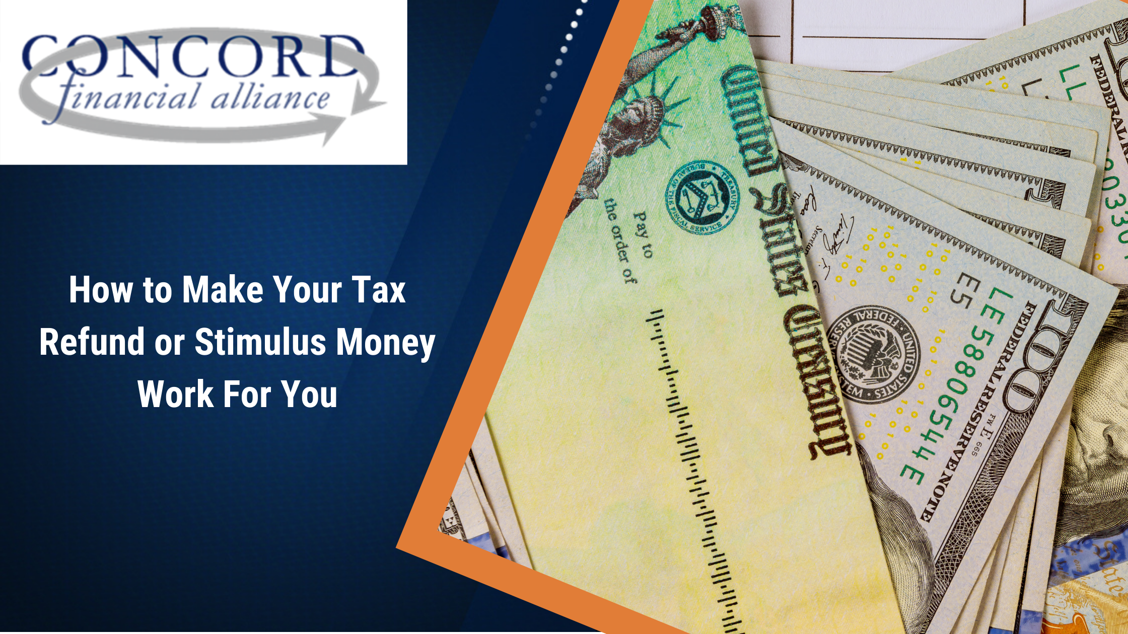 Tax Refund or Stimulus Money Work For You